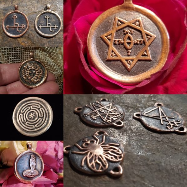 Pendants, Coins, & Centerpieces